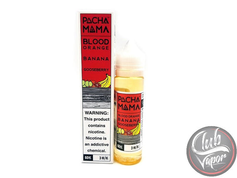 Blood Orange Banana Gooseberry 60mL E-Juice by PACHAMAMA E-Liquid
