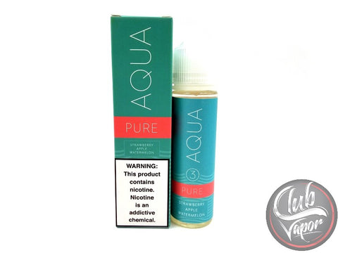 Pure E Liquid by Aqua E Juice 60mL