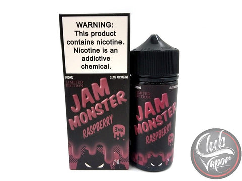 Raspberry E-Liquid 100mL by Jam Monster Liquids