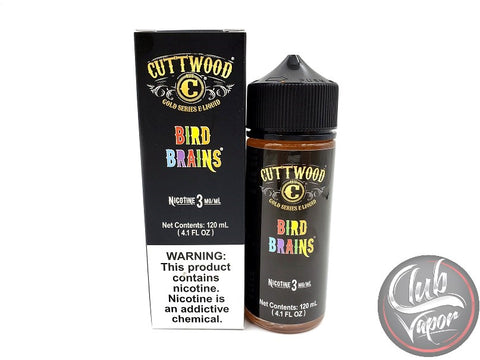 Bird Brains E Liquid by Cuttwood 120mL