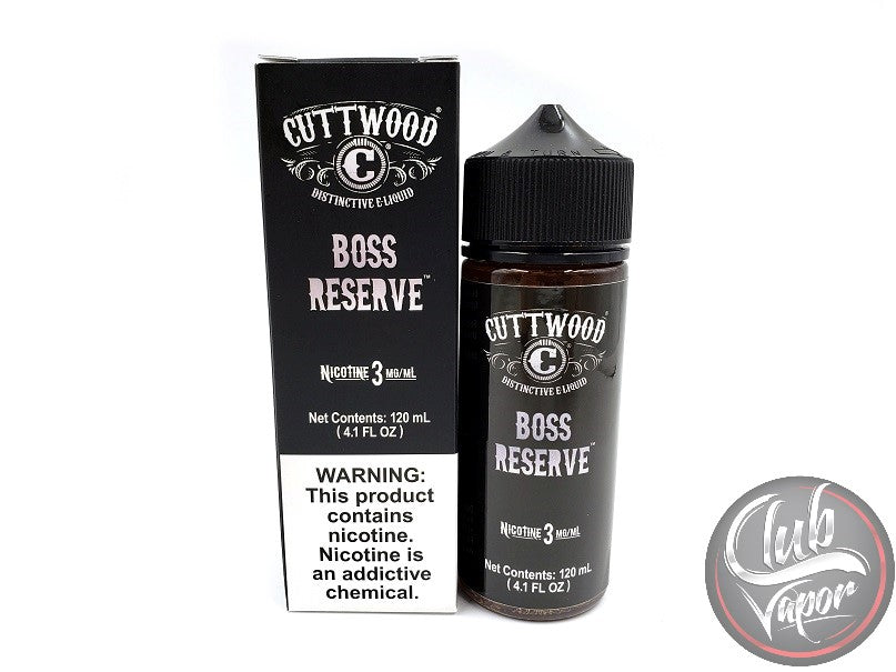 Boss Reserve E Liquid by Cuttwood 120mL