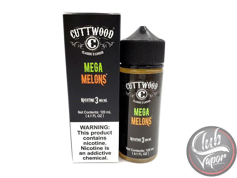 Mega Melons 120mL E-Liquid by Cuttwood