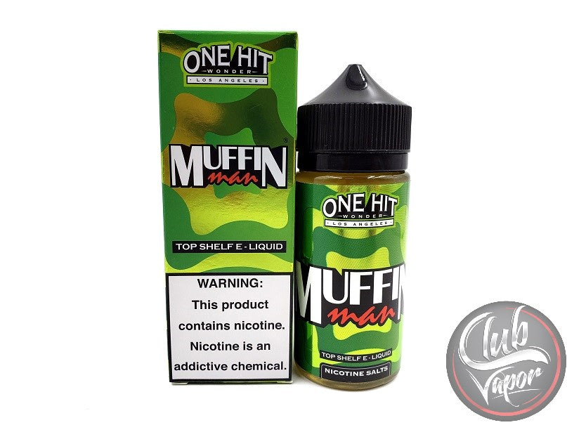 Muffin Man 100mL E-Liquid by One Hit Wonder