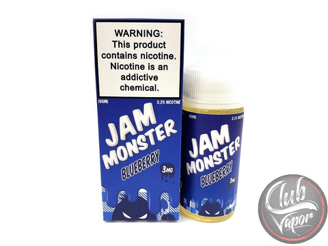 Blueberry E Liquid by Jam Monster Liquids 100mL