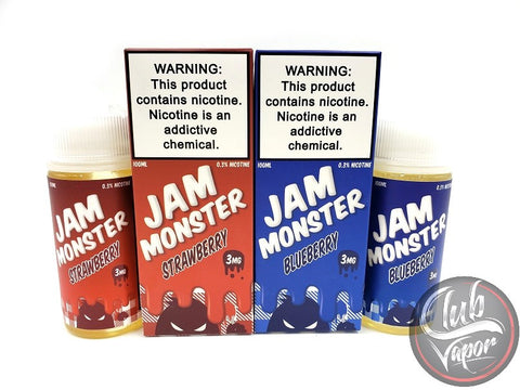 Jam Monster 200mL E-Liquid Bundle (Combo Pack)