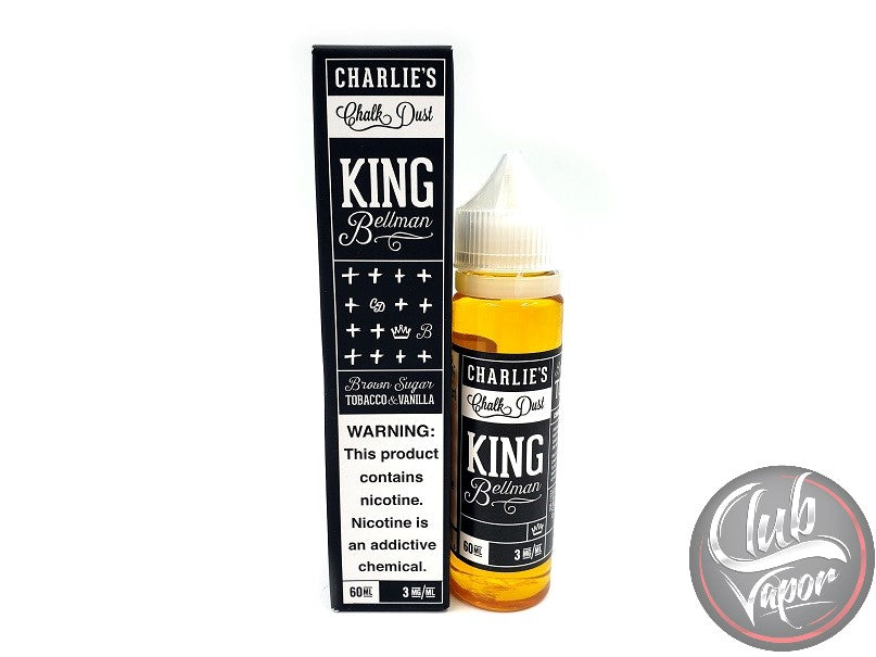 King Bellman E-Liquid by Charlie's Chalk Dust 60mL