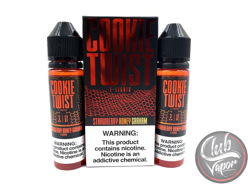 Strawberry Honey Graham E-Liquid by Cookie Twist 120mL