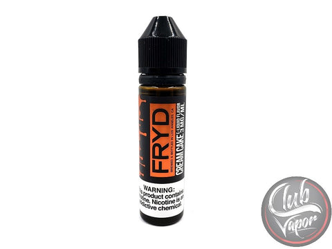 Fried Cream Cake 60mL E-Juice By FRYD Liquids