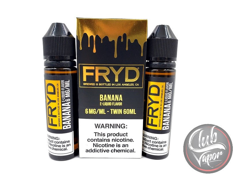 Fried Banana 120mL E-Juice by FRYD Liquids