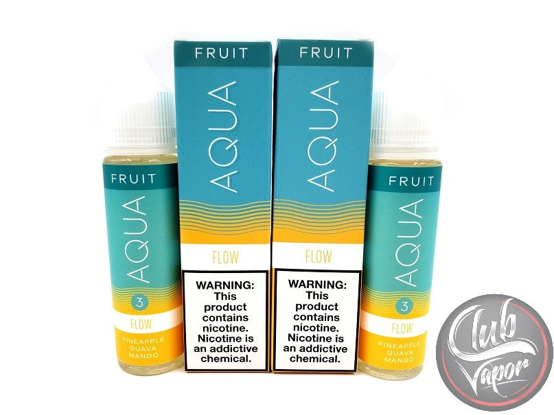 Flow E Liquid by Aqua E Juice 120mL