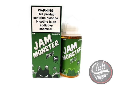 Apple E Liquid by Jam Monster Liquids 100mL