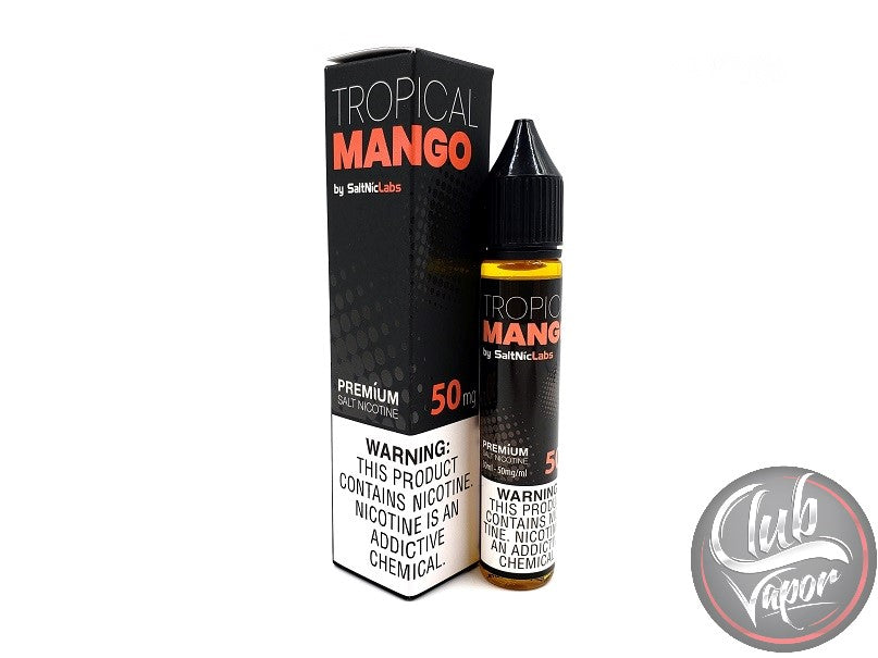 Tropical Mango Salt Nicotine E-Liquid 30mL by VGOD Salt