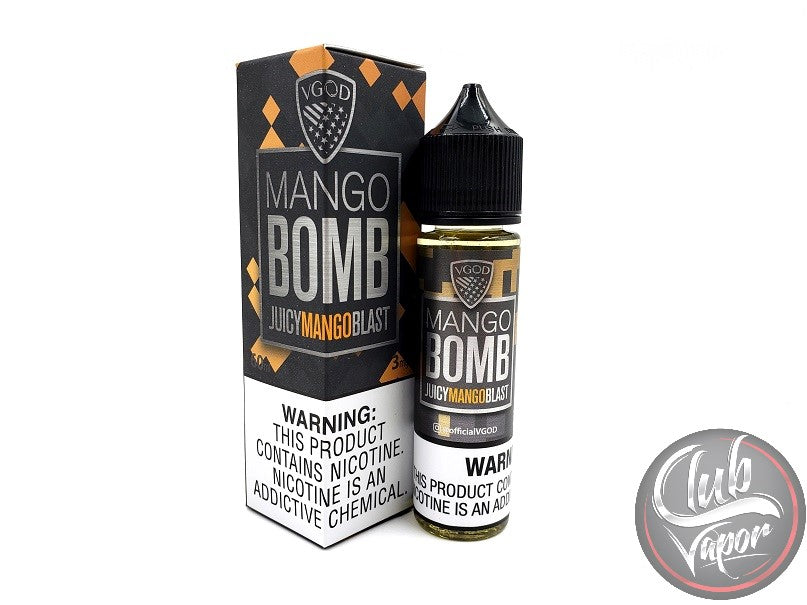 Mango Bomb Juicy Mango Blast 60mL E-Liquid by VGOD