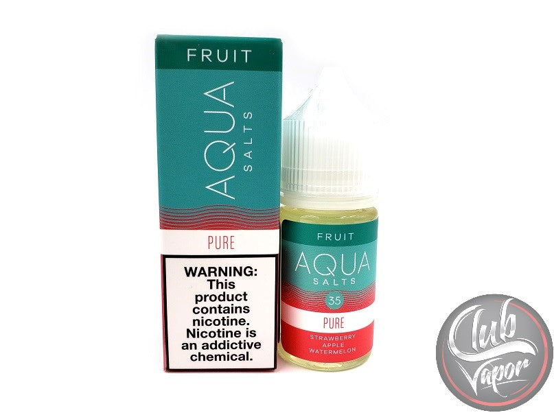 Pure Salt E-Liquid by Aqua Salts 30mL