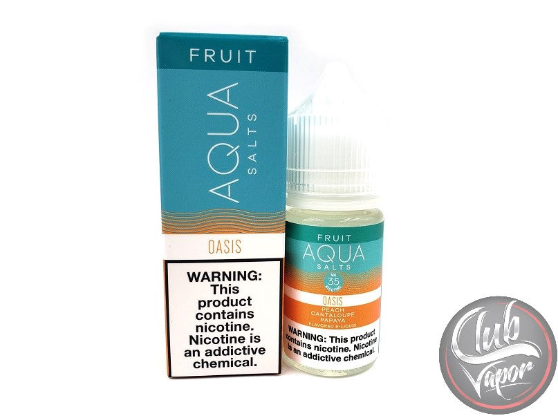 Oasis Salt E-Liquid by Aqua E-Juice 30mL