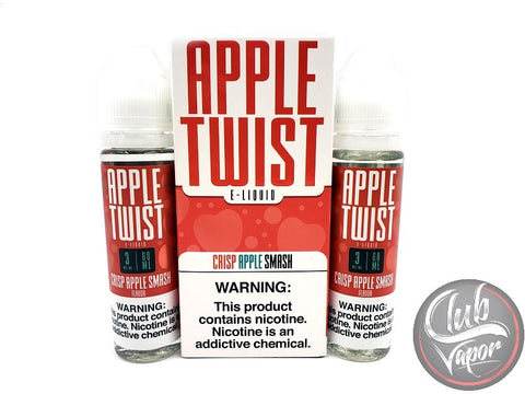 Crisp Apple Smash E-Liquid by Apple Twist 120mL
