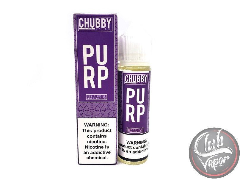 Bubble Purp by Chubby Bubble Vapes 60mL