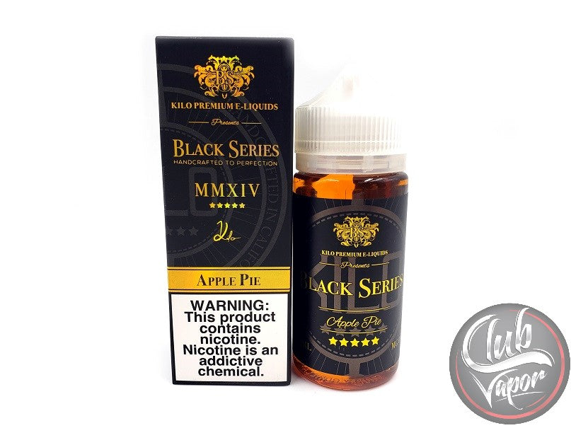 Apple Pie 100mL E-Liquid by Kilo Black Series