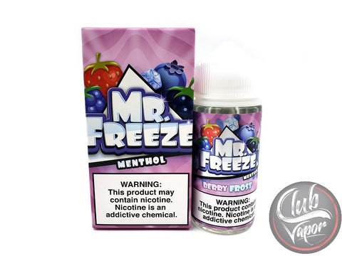 Berry Frost 100mL E-Liquid by Mr Freeze