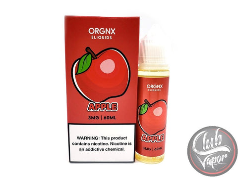 Apple 60mL E-Juice by ORGNX Liquids