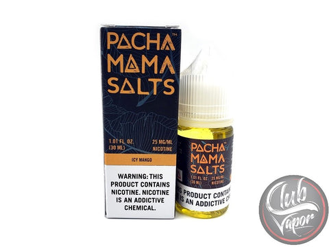 Icy Mango Salt E-Liquid by Pachamama Salts 30mL