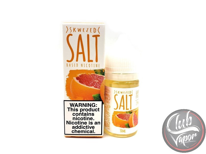 Grapefruit Salt Nicotine E-Liquid by Skwezed Salt 30mL
