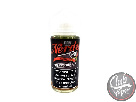 Strawberry Kiwi 100mL by Nerdy E Liquid