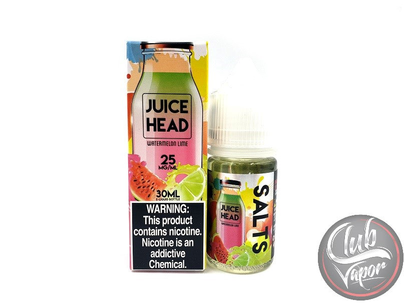 Watermelon Lime Nic Salt E-Liquid by Juice Head Salts 30mL