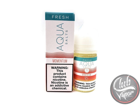 Momentum Salt E-Liquid by Aqua Salts 30mL
