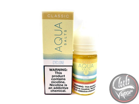 Cyclone Salt E-Liquid by Aqua Salts 30mL
