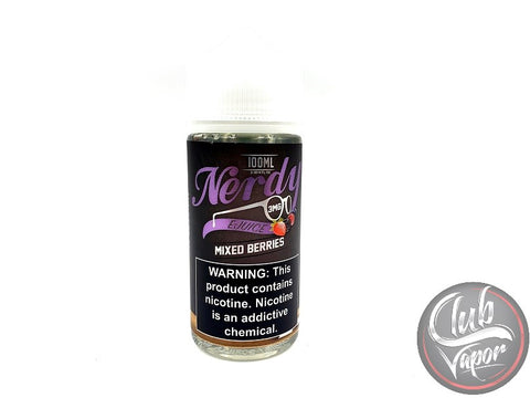 Mixed Berries 100mL by Nerdy E-Liquid