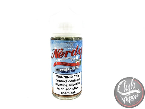 Chilled Strawberry Kiwi 100mL by Nerdy E-Liquid