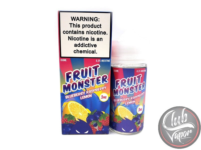Blueberry Raspberry Lemon E-Liquid by Fruit Monster 100mL