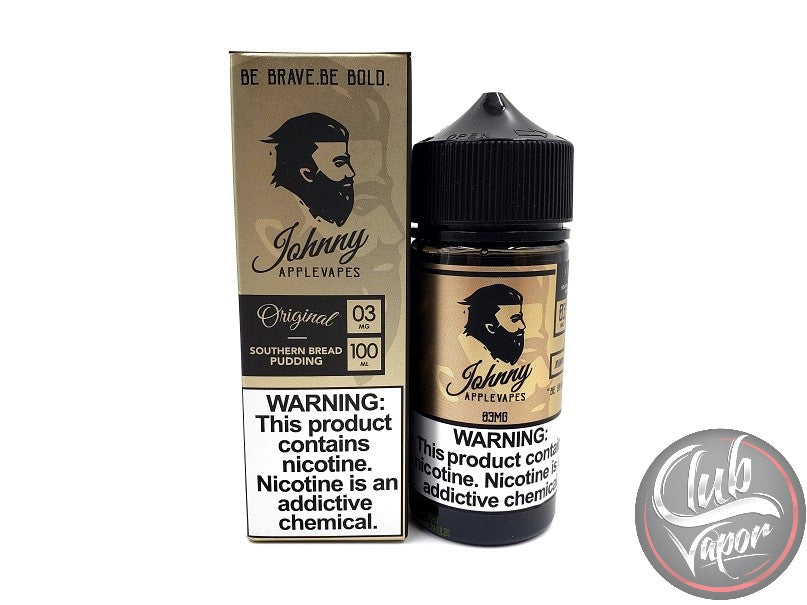 Southern Bread Pudding 100mL E-Liquid by Johnny Apple Vapes