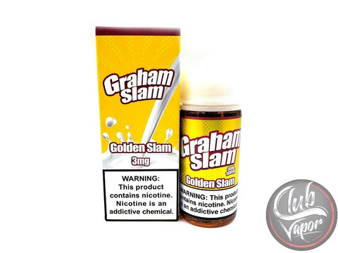 Golden Slam Graham Slam 100mL E-Liquid by The Mamasan
