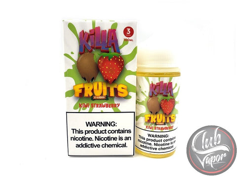 Kiwi Strawberry 100mL E-Liquid by Killa Fruits