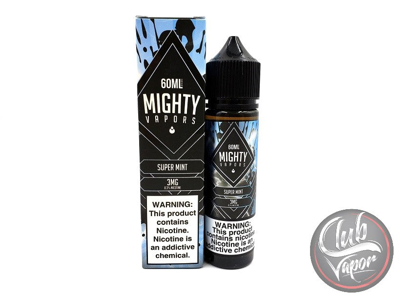 Super Mint 60mL E-Liquid by Mighty Vapors