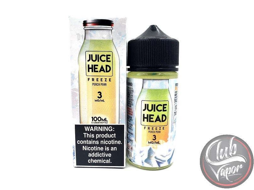 Ice Peach Pear 100mL E-Liquid by Juice Head