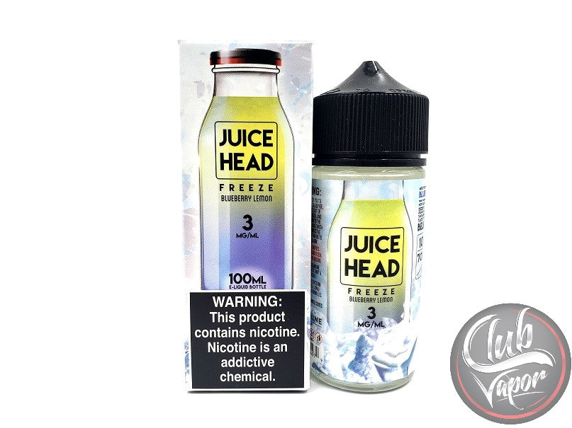 Ice Blueberry Lemon 100mL E-Liquid by Juice Head