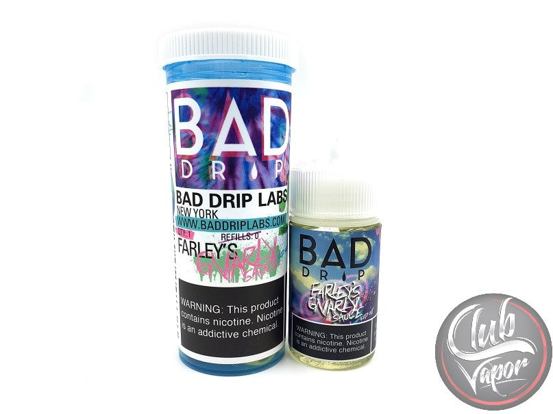 Iced Farley's Gnarly Sauce 60mL E-Liquid by Bad Drip