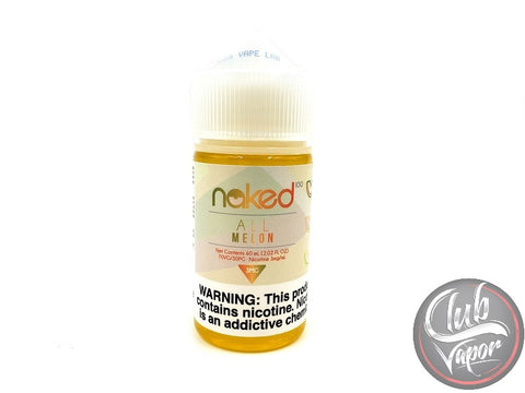 All Melon E Liquid Naked 100 60mL