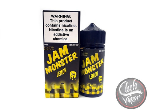 Lemon Jam E-Liquid by Jam Monster Liquids 100mL