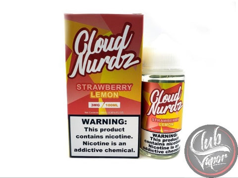 Strawberry Lemon Cloud Nurdz E-Juice 100mL by OG E-Liquids