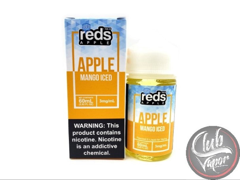 Mango Red's Apple ICED E-Juice by 7 Daze 60mL