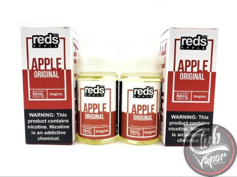 Red's Apple E Juice by 7 Daze 120mL