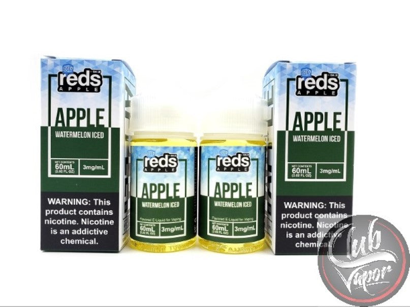 Watermelon Red's Apple ICED E-Juice by 7 Daze 120mL