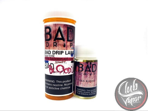 Bad Blood 60mL E Liquid by Bad Drip