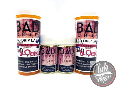 Bad Blood E Liquid by Bad Drip 120ml