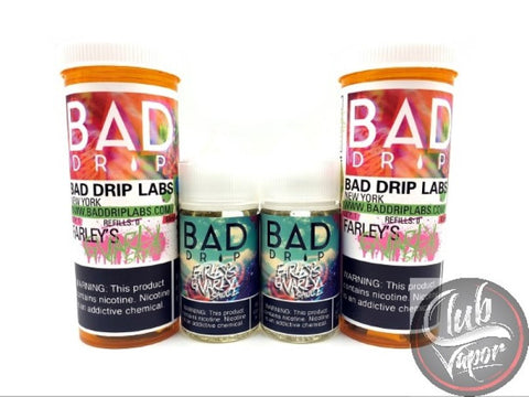 Farley's Gnarly Sauce E Liquid by Bad Drip 120ml