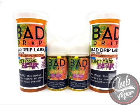Don't Care Bear E Liquid by Bad Drip 120mL